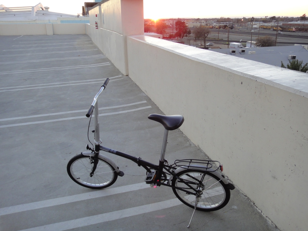 dahon_ramp_sunset
